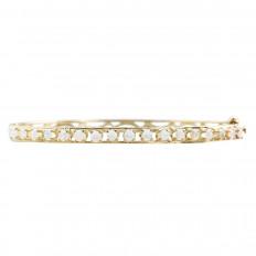 Vintage Opal Bangle Bracelet