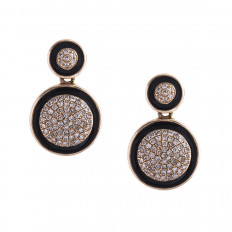 New Madison L 0.39 CTW Diamond Halo Earrings