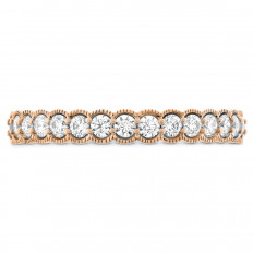 New Hearts On Fire® 0.44 CTW Diamond Isabelle Anniversary Band
