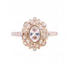 New Beverley K 0.15 CTW Diamond Engagement Ring