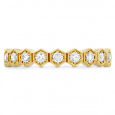 New Hearts On Fire® 0.38 CTW Diamond Hex Band