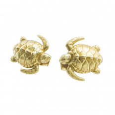 Vintage Kieselstein Turtle Cufflinks
