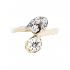 Vintage 0.70 CTW Diamond Ring