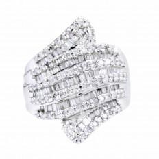Vintage 2.11 CTW Diamond Ring