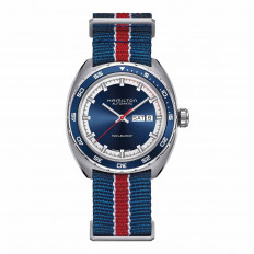 Pre-Owned Man's Hamilton Pan-Europ Day Date