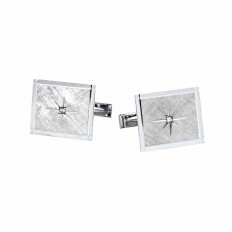Vintage 0.06 CTW Diamond Cufflinks