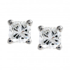 Vintage 0.45 CTW Diamond Stud Earrings