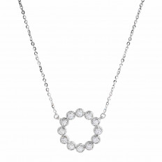 New Hearts On Fire® 0.38 CTW Diamond Liliana Circle Necklace