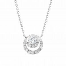 New Hearts On Fire® 0.39 CTW Diamond Optima Necklace
