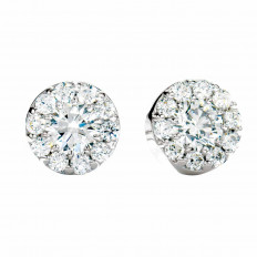 New Hearts On Fire® 0.51 CTW Diamond Fulfillment Earrings