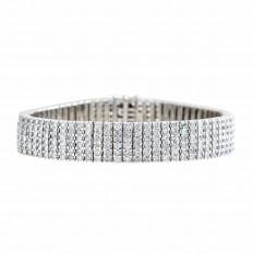 Vintage 8.52 CTW Diamond Tennis Bracelet