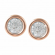 New Madison L 0.20 CTW Diamond Disc Stud Earrings