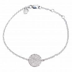 Vintage Meira T 0.50 CTW Diamond Disc Bracelet