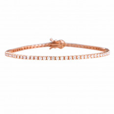 New 2.02 CTW Diamond Tennis Bracelet