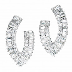 Vintage 2.19 CTW Diamond Earrings