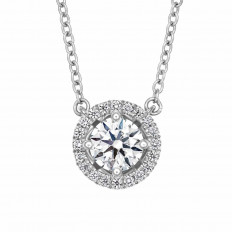 New Hearts On Fire® 0.26 CTW Diamond Joy Necklace