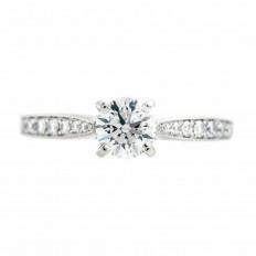 Vintage 1.25 CTW Diamond Engagement Ring