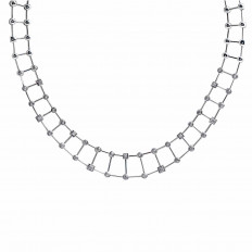 Vintage 0.44 CTW Diamond Necklace
