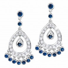 Vintage 5.04 CTW Diamond Chandlier Earrings