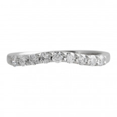 Vintage Hearts On Fire® 0.35 CTW Diamond Preference Band