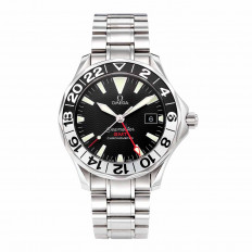 Pre-Owned Man's Omega Seamaster GMT 50th Anniversary