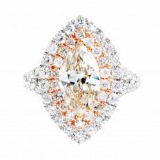 7 CTW Diamond Halo Engagement Ring