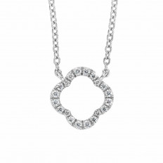 New Hearts On Fire® Signature Petal Necklace