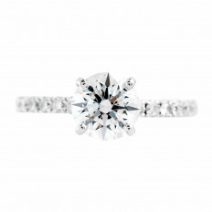 Vintage 2.01 CTW Diamond Engagement Ring