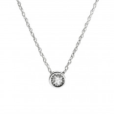 New 0.10 CT Diamond Necklace