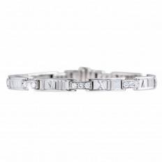 Vintage Tiffany & Co. 1.00 CTW Diamond Atlas Bracelet