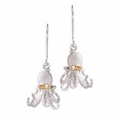 ew Denny Wong 0.02 CTW Diamond Octopus Dangle Earrings