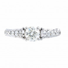 Vintage 1.05 CTW Diamond Engagement Ring