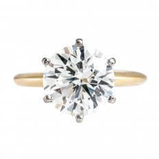 New 4.02 CT Diamond Engagement Ring