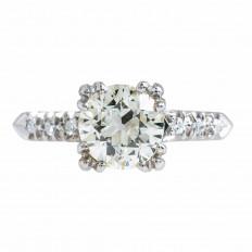 Vintage 1.41 CTW Diamond Engagement Ring