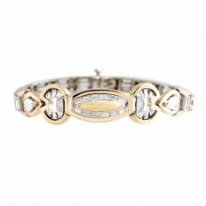 Vintage 3.80 CTW Diamond Bracelet