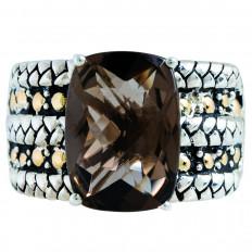 Vintage Effy 6.00 CT Smokey Quartz Ring