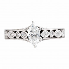Vintage Neil Lane 0.75 CTW Diamond Engagement Ring