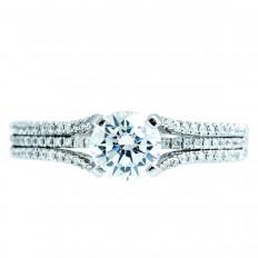 New Venetti 0.32 CTW Diamond Engagement Ring