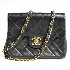 Vintage Chanel Mini Flap Shoulder Bag