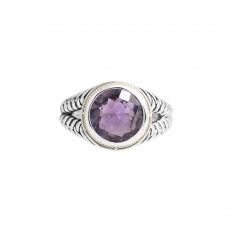 Vintage Effy 3.60 CT Amethyst Ring