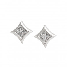 Vintage 0.40 CTW Diamond Stud Earrings