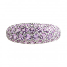Vintage 1.63 CTW Pink Sapphire Band