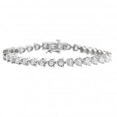 Vintage 3.00 CTW Diamond Tennis Bracelet