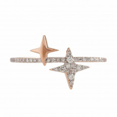 New Madison L 0.12 CTW Diamond Star Ring
