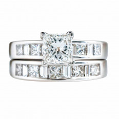 Vintage 2.30 CTW Diamond Wedding Set