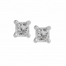 New 0.18 CTW Diamond Stud Earrings