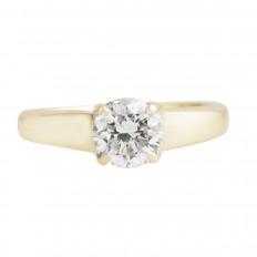 Vintage 1.28 CT Diamond Engagement Ring
