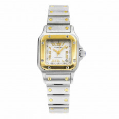 Pre-Owned Woman's Cartier Santos Galbee