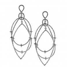 Vintage 1.00 CTW Diamond Drop Earrings