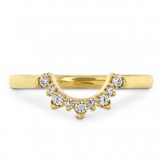 New Hearts On Fire® 0.113 CTW Diamond & Pink Sapphire Behati Tiara Band